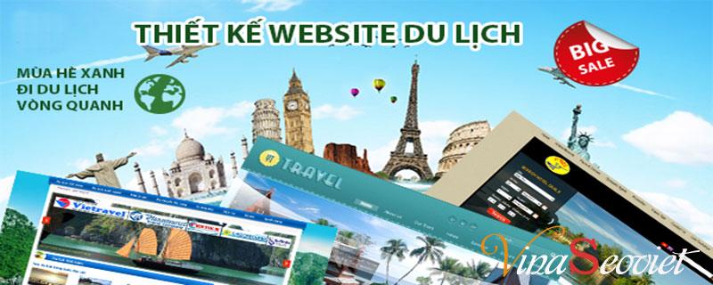 thiết kế website du lịch, thiet ke website du lich