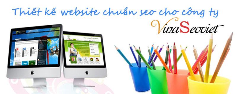thiết kế website chuẩn seo công ty