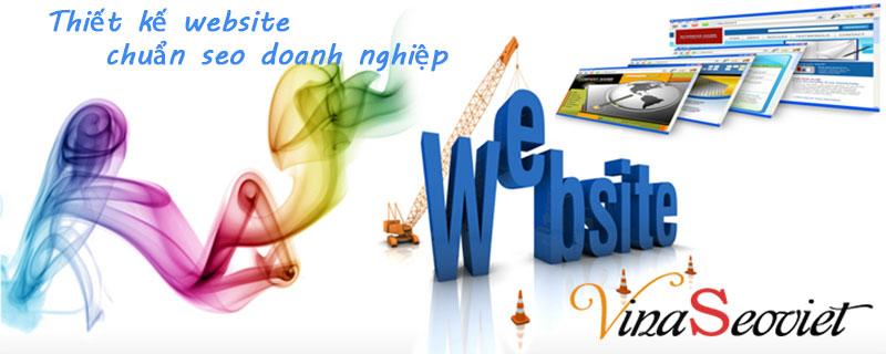 thiết kế website chuẩn seo cho doanh nghiệp