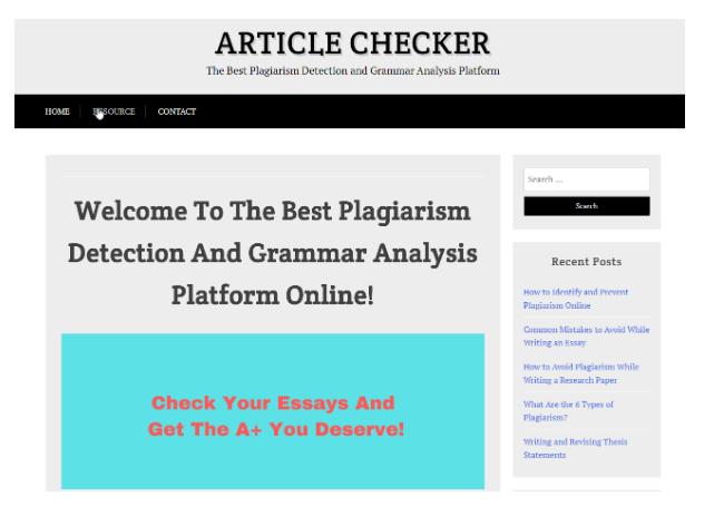 Article Checker – Một công cụ không khó để sử dụng