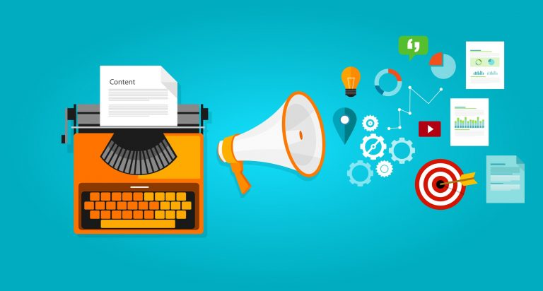 Content bao gồm tất cả các thể loại nội dung như bài viết, hình ảnh, video