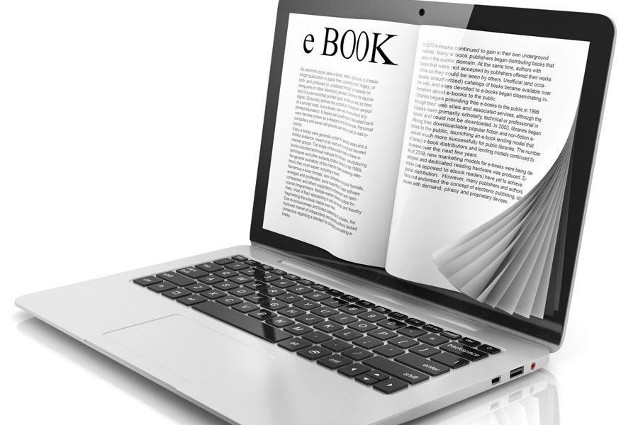 Mỗi eBook thường được xuất bản dưới định dạng PDF